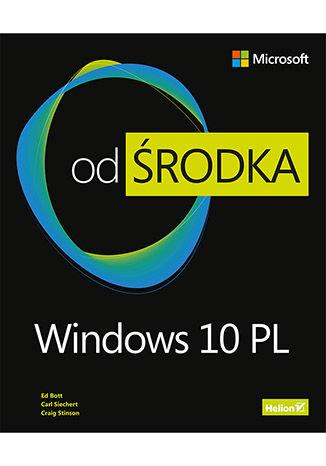 Okładka książki Windows 10 PL. Od środka