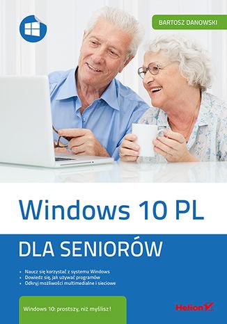 Okładka książki Windows 10 PL. Dla seniorów
