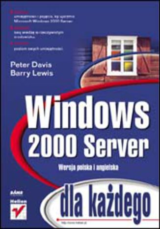 Okładka książki Windows 2000 Server dla każdego