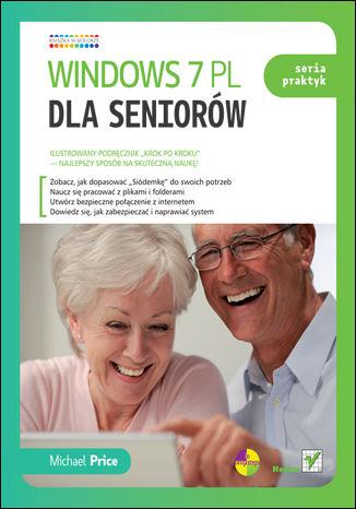 Okładka książki Windows 7 PL dla seniorów. Seria praktyk