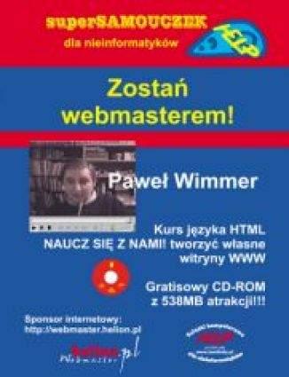 Okładka książki/ebooka Zostań webmasterem!