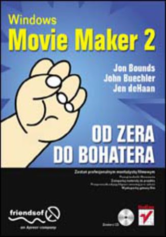 Okładka książki/ebooka Windows Movie Maker 2. Od zera do bohatera