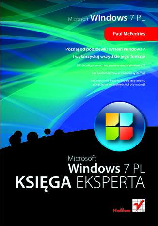 Okładka książki/ebooka Windows 7 PL. Księga eksperta