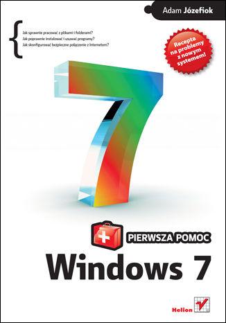 Okładka książki/ebooka Windows 7 PL. Pierwsza pomoc