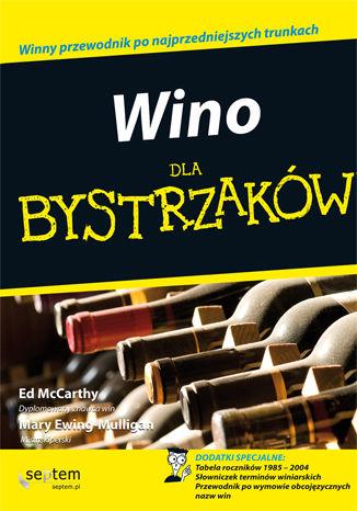 Okładka książki Wino dla bystrzaków