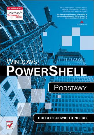 Okładka książki Windows PowerShell. Podstawy