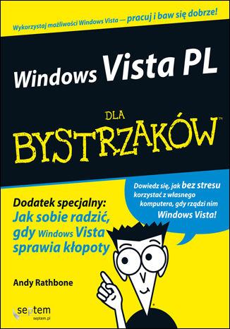 Okładka książki Windows Vista PL dla bystrzaków