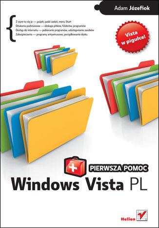 Okładka książki/ebooka Windows Vista PL. Pierwsza pomoc