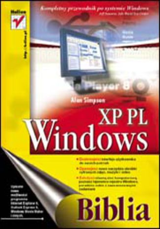 Okładka książki/ebooka Windows XP PL. Biblia