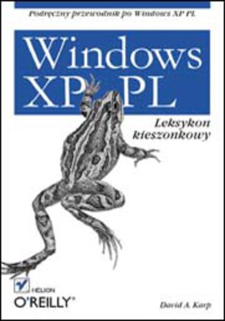 Okładka książki/ebooka Windows XP PL. Leksykon kieszonkowy