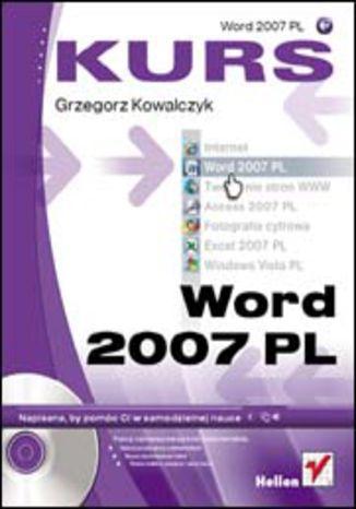 Okładka książki/ebooka Word 2007 PL. Kurs