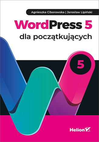 Okładka książki WordPress 5 dla początkujących