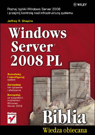 Ebook Windows Server 2008 PL. Biblia