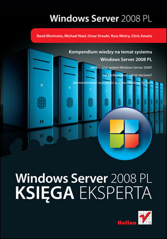 Okładka książki Windows Server 2008 PL. Księga eksperta