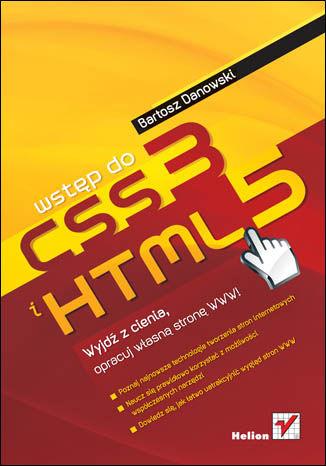 Okładka książki Wstęp do HTML5 i CSS3