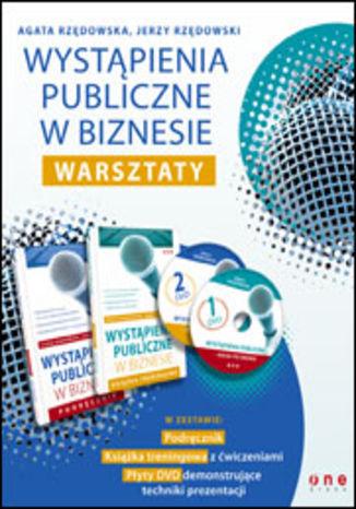 Okładka książki/ebooka Wystąpienia publiczne w biznesie. Warsztaty