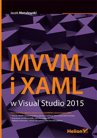 Okładka książki MVVM i XAML w Visual Studio 2015