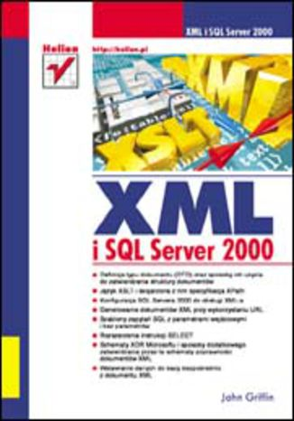 Okładka książki XML i SQL Server 2000