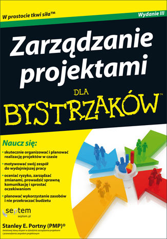 Okładka książki Zarządzanie projektami dla bystrzaków
