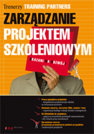 Okładka książki Zarządzanie projektem szkoleniowym