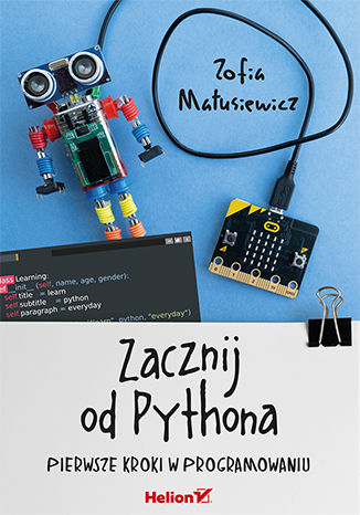 Okładka książki/ebooka Zacznij od Pythona. Pierwsze kroki w programowaniu