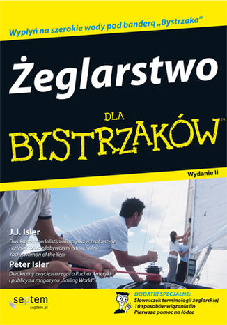 Okładka książki/ebooka Żeglarstwo dla bystrzaków. Wydanie II