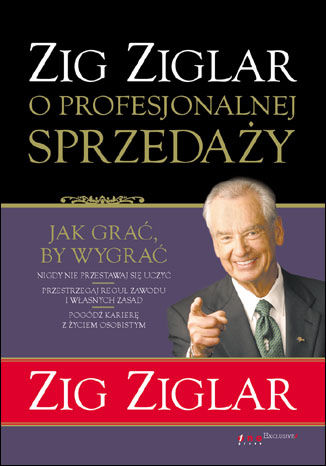 Okładka książki/ebooka Zig Ziglar o profesjonalnej sprzedaży
