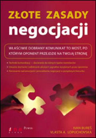 Okładka książki/ebooka Złote zasady negocjacji