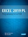 Excel 2019 PL. Programowanie w VBA. Vademecum Walkenbacha