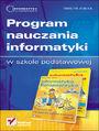 Informatyka Europejczyka. Program nauczania informatyki w szkole podstawowej