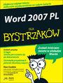 Word 2007 PL dla bystrzaków - Dan Gookin