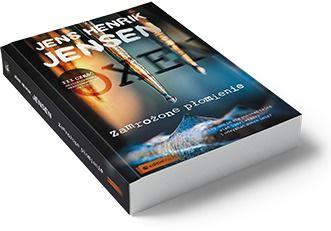 Okładka książki Zamrożone płomienie - Jens Henrik Jensen