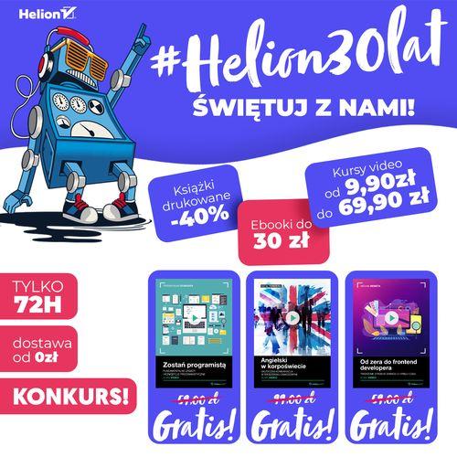 #Helion30lat - Świętuj z nami!
