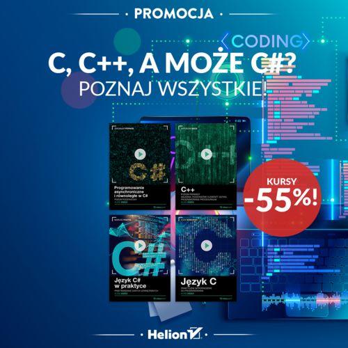 C, C++, a może C#? Poznaj wszystkie!