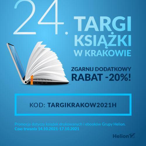 24. Targi Książki w Krakowie - ZGARNIJ DODATKOWY RABAT -20%!