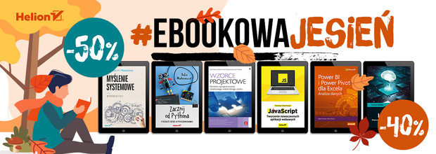 #EbookowaJesień - ebooki [od -40% do -50%]