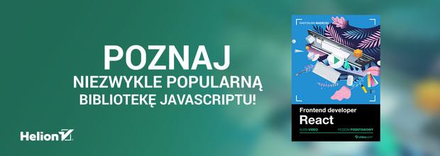 Poznaj niezwykle popularną bibliotekę JavaScriptu!
