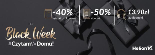 Black Week [Druki -40%| Ebooki -50%| Audiobooki po 13.90 zł]