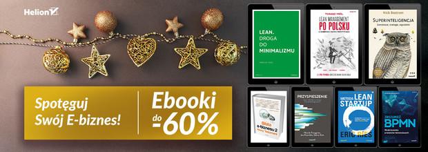Spotęguj Swoją E-biznes! [ebooki do -60%]