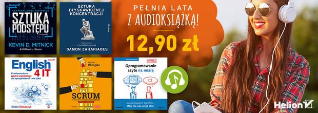 pełnia lata z audiobookiem audioksiążką