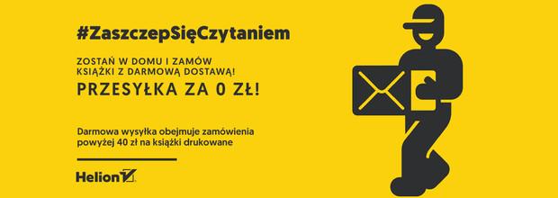 Darmowa wysyłka od 40zł! / #ZaszczepSięCzytaniem