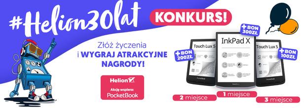 Konkurs - #Helion30lat - zgarnij atrakcyjne nagrody!