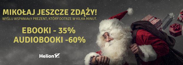 Mikołaj jeszcze zdąży! [Ebooki -35%| Audiobooki -60%]