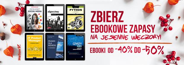 Zbierz ebookowe zapasy na jesienne wieczory!