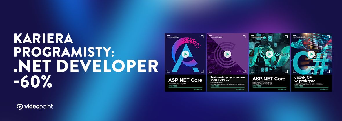 Promocja na ebooki Kariera programisty: .NET Developer