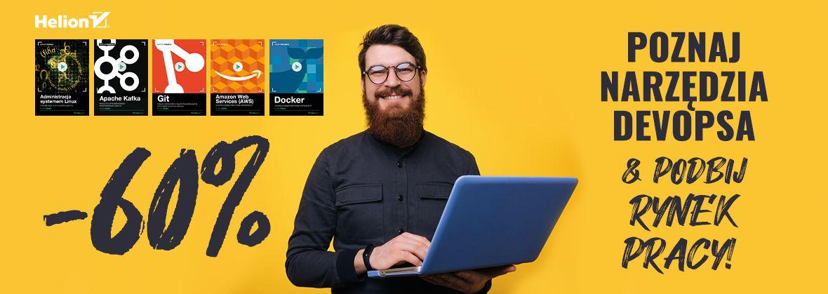 Promocja na ebooki Poznaj narzędzia DevOpsa i podbij rynek pracy!