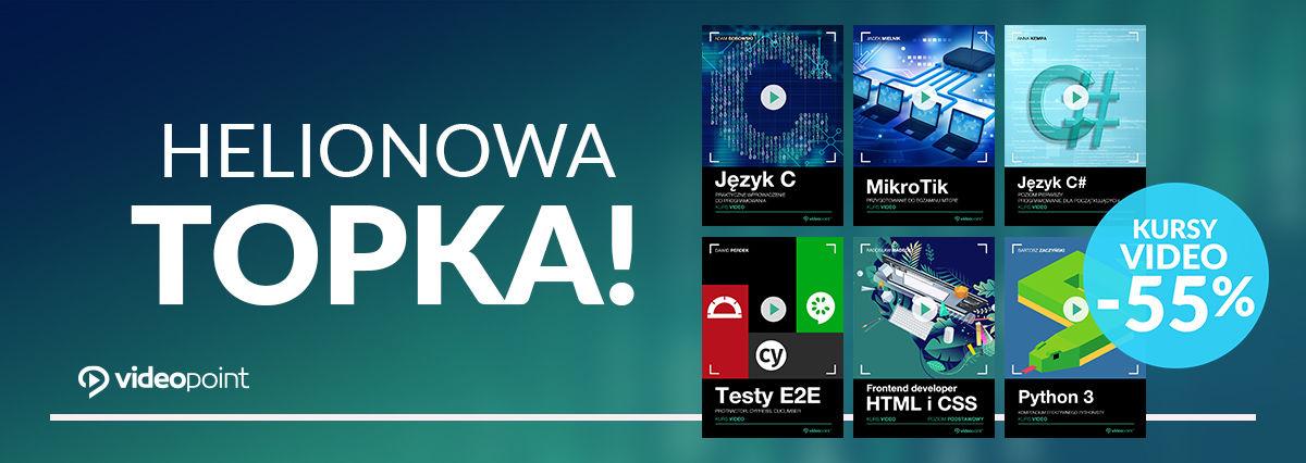 Promocja na ebooki Helionowa (kursowa) TOPKA! [-60%]