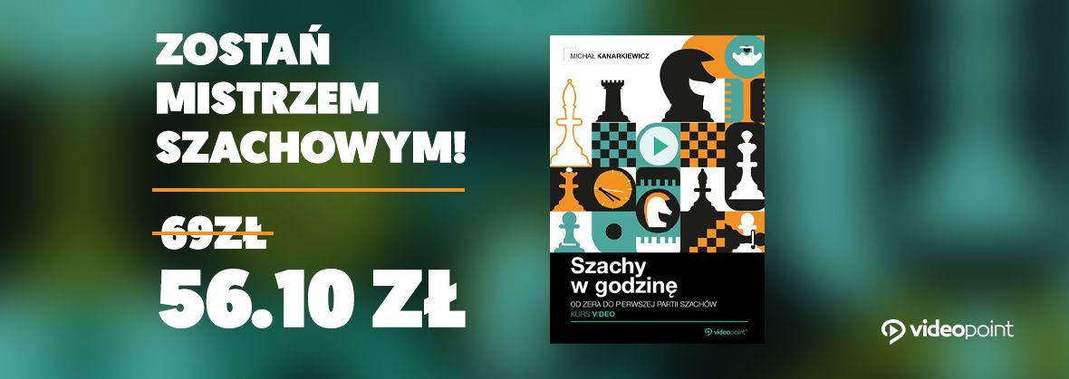 Promocja na ebooki Zostań mistrzem szachowym!