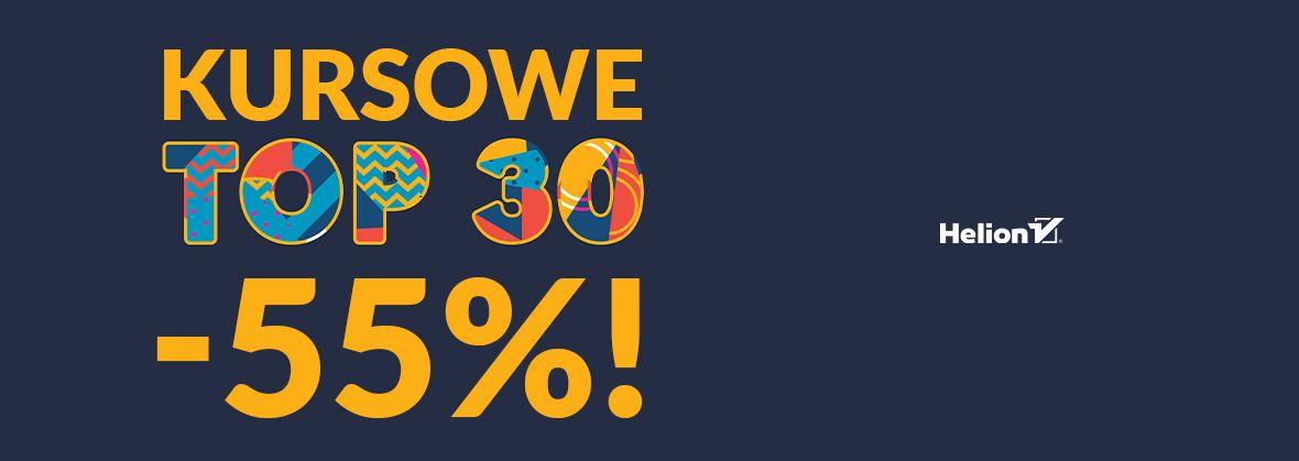 Promocja na ebooki Kursowe TOP30! [-55%]