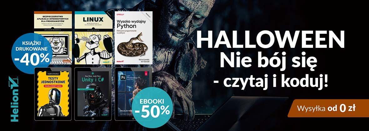 Promocja na ebooki Nie bój się - czytaj i koduj! [Książki drukowane -40%| Ebooki -50%]